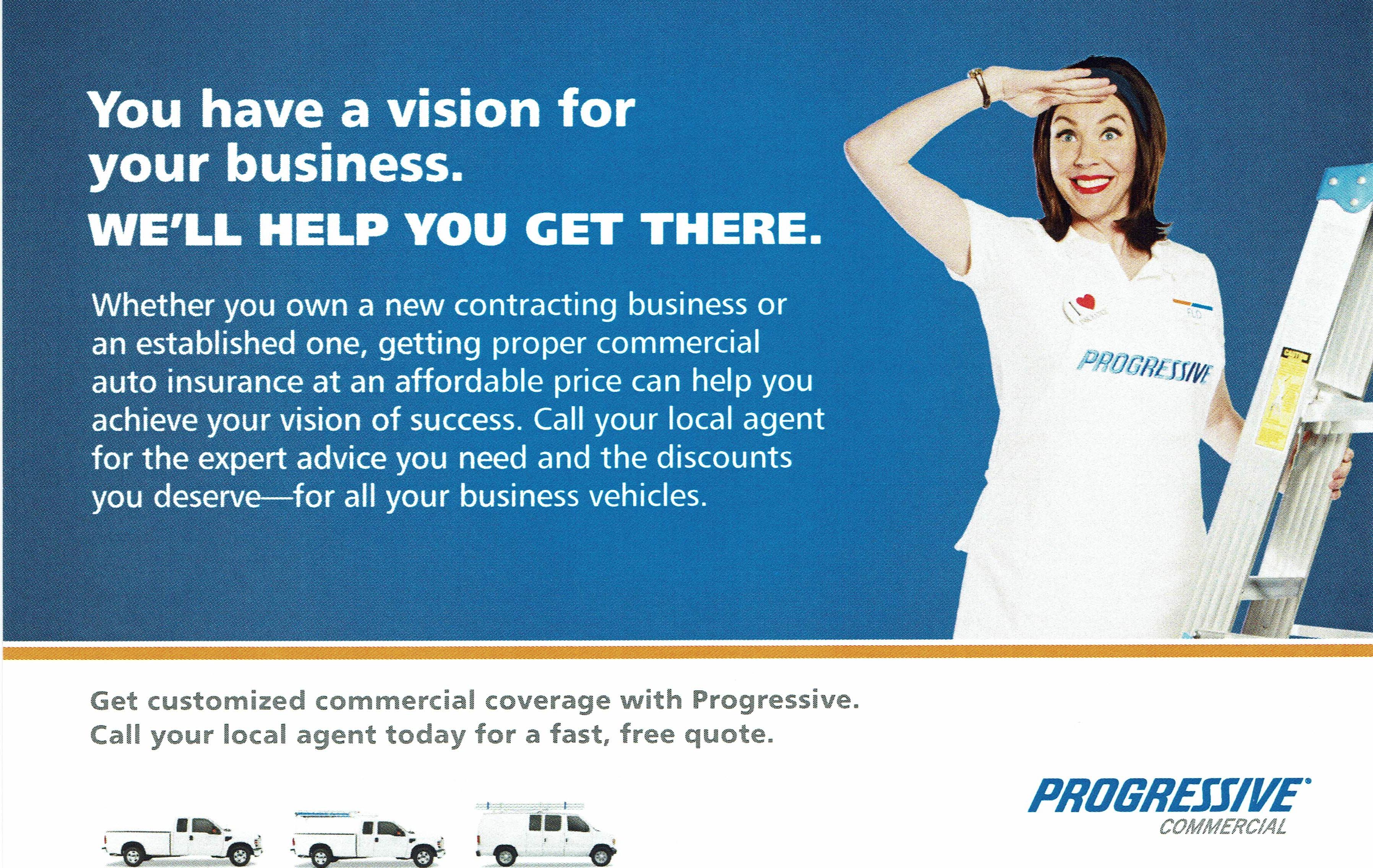 progressive commercial vehicle insurance